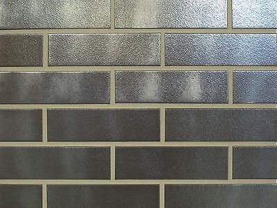 Nf-format 1 Logisch Klinker-riemchen Silber-schwarz Glatt Sorte Weitere Rabatte üBerraschungen