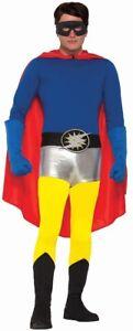 Yellow-Superhero-Hero-Pants-Adult-Mens-Womens-Unisex-Costume-Accessory-NEW