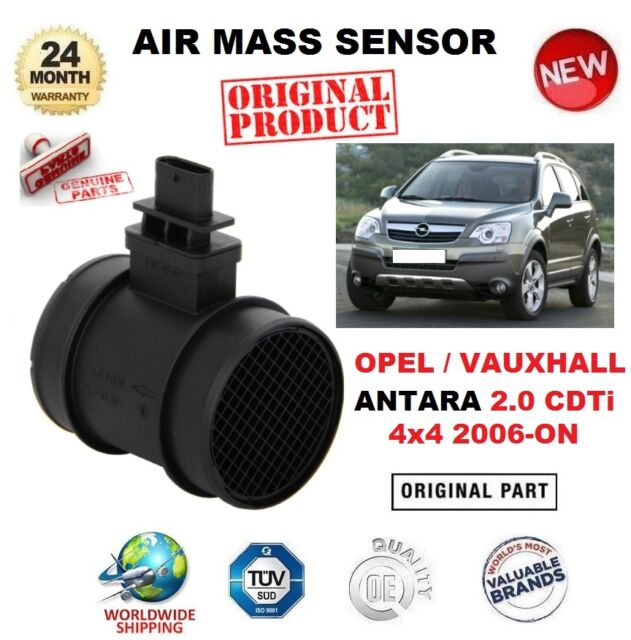 Fits Vauxhall Opel Antara 2.0 CDTI 2006-Onwards New Mass Air Flow Meter Sensor
