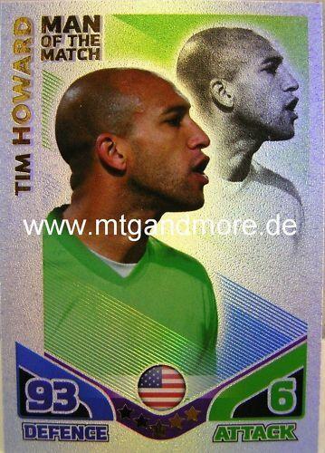 Match Attax World Stars Matchwinner Tim Howard