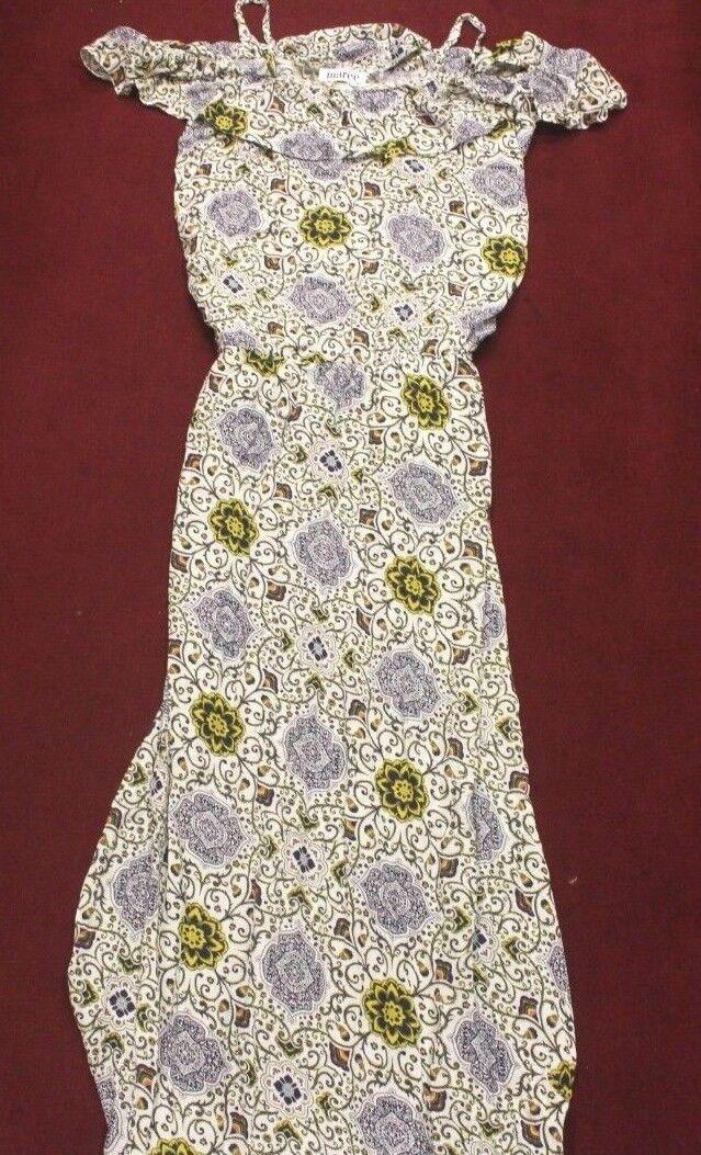 Marée Style Latika Dress MultiFarbe Größe M Kleid   100% Viskose (c304)