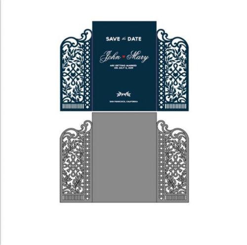 Stanzschablonee Liane Blatt Weihnachten Hochzeit Oster Geburtstag Karte Album
