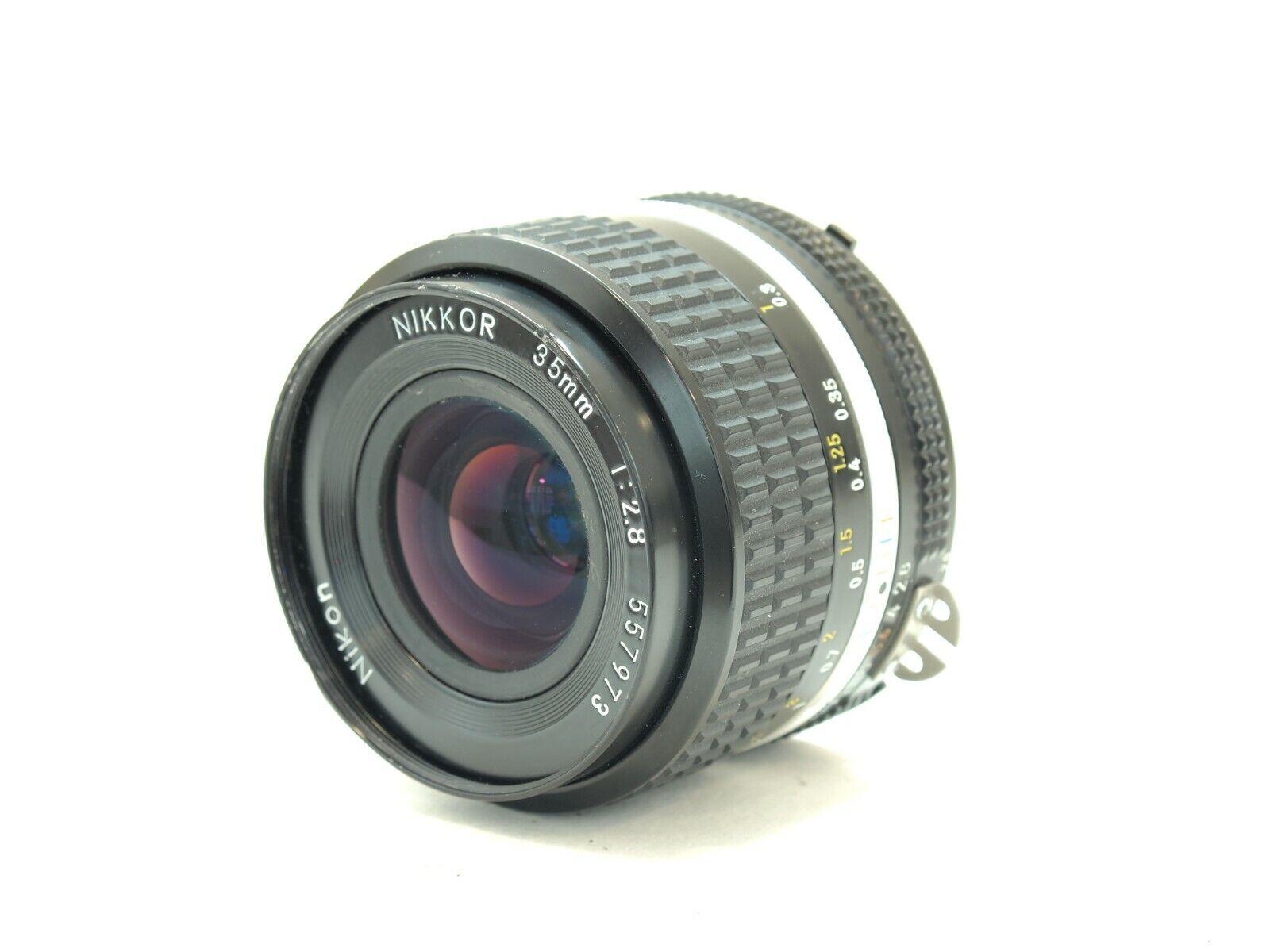 Nikon 35mm F2.8 AI-S Mount Manual Focus Wide Lens. Stock No u13214