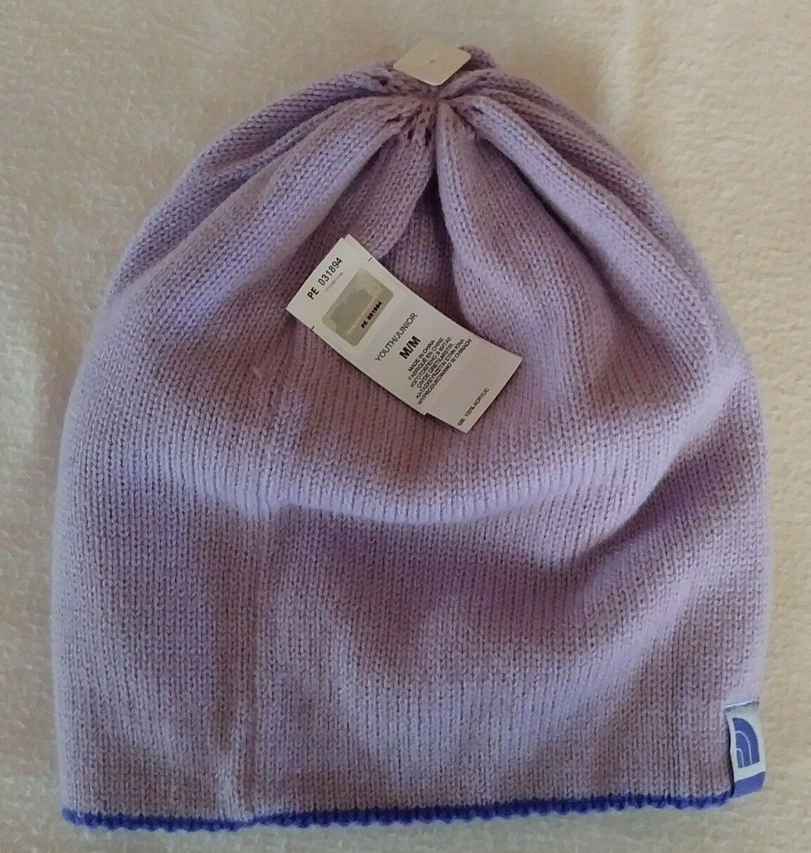 911bfa25f14006 The North Face Youth Shinsky Hat Beanie Winter Reversible Starry Purple  Medium | eBay