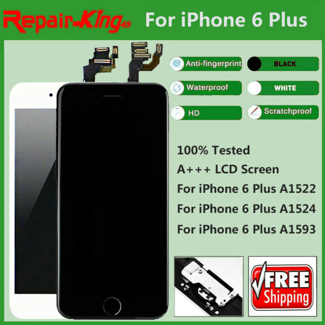 best sneakers c8ddb 888ff A1524 A1522 For iPhone 6Plus LCD Display Touch Screen Digitizer Full  Replacement