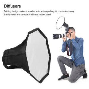 20/30cm Universal Flash Light Softbox Octagon Diffuser For Camera Speedlight A@ RafraîChissant Et Enrichissant La Salive