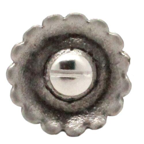 """Santa Fe Cactus Cross Concho Antique Nickel 1-1//4/"""" 20704-21"""