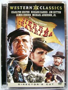 Dvd-Sierra-Charriba-Director-039-s-cut-Super-jewel-box-di-Sam-Peckinpah-1965-Usato