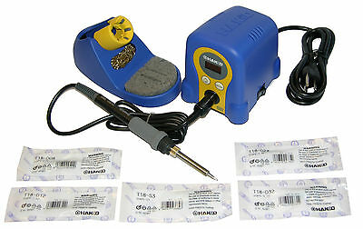 Hakko FX888-23BY Soldering Station with T18-B//D08//D12//D24 Tips