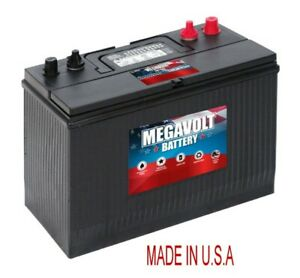 BATTERY-31M-DEEP-CYCLE-MEGAVOLT-U-S-A-12V-850-CCA-MARINE-RV-NON-SPILABLE-LEAD