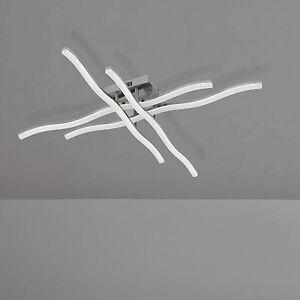 Wofi-Lampara-LED-de-techo-Kennett-Niquel-mate-4-flg-lampara-9770-04-64-0000