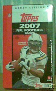 Brand New 2007 Topps NFL Football Sealed 1 Pack 9 Cards