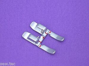 Open toe applique foot idt 9mm 93 036933 91 to fit pfaff sewing
