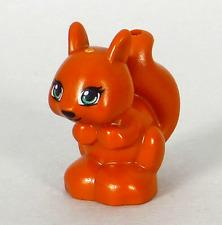 NEW LEGO Land Squirrel Dark Orange Friends x 5-41017 41031 10738 Animal