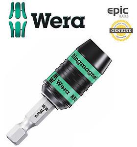 Wera 887//4 RR Rapidaptor Ring Magnetic Screwdriver Bit Holder with Stop Sleeve