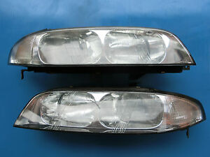 JDM-Nissan-Skyline-R33-Headlights-Headlamps-GTT-GTST-Clear-Kouki-Head-Light-Lamp