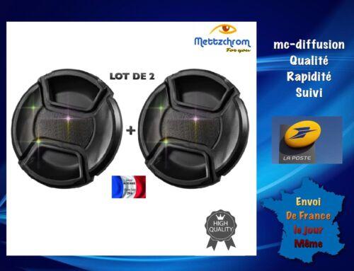 Nikon Tamron 1 Lot De 2 Bouchons d/'objectif 67 mm Cache objectif Canon Sigma.