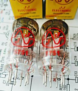 5751-JJ-Tube-Roehren-ECC83-12AX7-matched-balanced-Paar-NEU-f-Gitarrenverstaerker