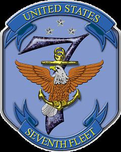 United States Seventh Fleet USA Navy//Military STICKER DIE-CUT Vinyl Decal