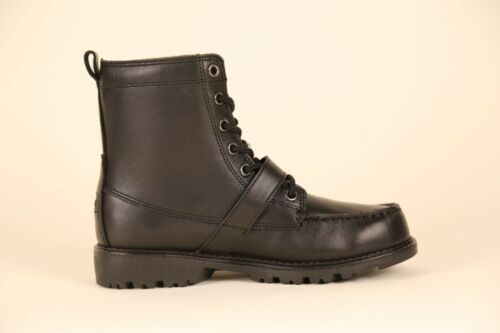 POLO RALPH LAUREN JUNIOR/'S RANGER HI II BOOT 90945 B BLACK msrp: $90