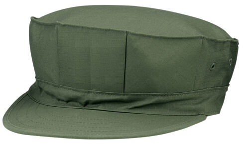 OD USMC 8 Point Cap Marines Style Fatigue Rip Stop Olive Drab Hat Rothco 5648