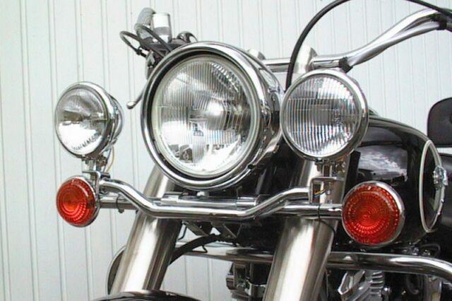 Soporte de la Lámpara para Faros Adicionales Yamaha XV 1600 Estrella Salvaje