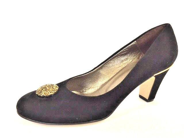 Chaussures femmes chaussures Escarpins cuir noir Leonie Taille 41 (7,5)