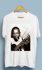 Vintage-Robert-Johnson-Blues-Rock-Retro-Gildan-T-Shirt-Size-S-M-L-XL-2XL