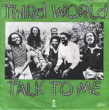 "7"" Third World Talk To Me 70`s Reggae Chart Hit 70 Ariola Island"