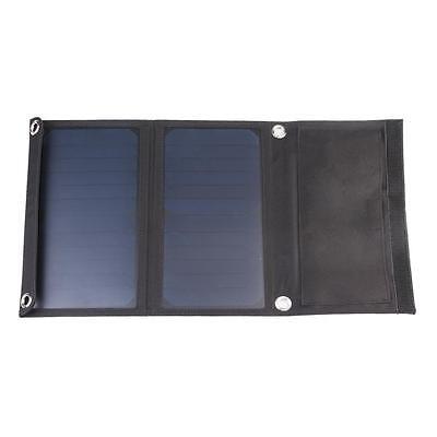 Erneuerbare Energie Universal 14w Doppelt Usb-anschluss Gefaltet Einkristallin Sonnenkollektor Sonne Heimwerker