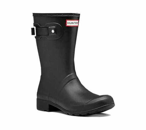 Hunter Women/'s Original Tour Short Rain Boot Black Waterproof