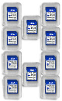 2gb Sd Flash Memory Cards - 10 Pack For Digital Cameras Trail Cameras +