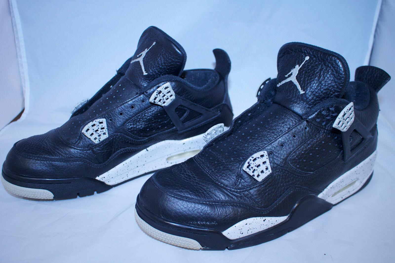 Nike Air Jordan 4 Retro LS Men's Tennis Shoes Comfortable Seasonal clearance sale