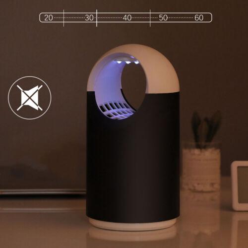 LED UV Zanzariera Elettrica Anti Zanzare Mosche Lampada Elettroinsetticida