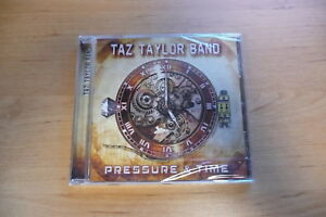 @ CD TAZ TAYLOR BAND - PRESSURE & TIME / ESCAPE MUSIC 2017 SS / MELODIC USA