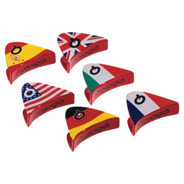 PROLOGO Recambio uclip Sillin world clip diferentes banderas PAISES  FRANCIA