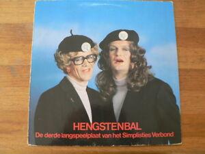 LP-RECORD-VINYL-HENGSTENBAL-DE-DERDE-LP-VAN-KOOTEN-amp-DE-BIE-SIMPLISTIES-VERBOND