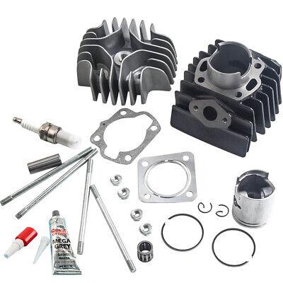 Fit Suzuki Quadrunner LT 50 1984-1987 Cylinder Piston Gasket Head Top End Kit