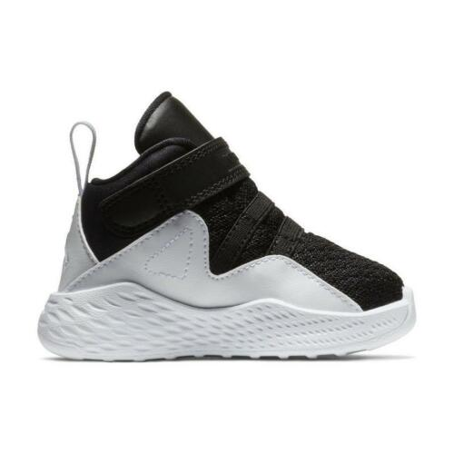 "New Nike Air Jordan  Formula 23 /""Black//White/"" Basketball Toddler 5-7-9"