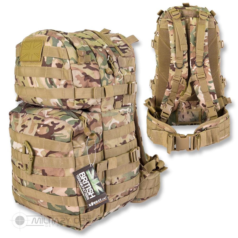Medio Molle Patrol Pacco 40 Litri Tattico Btp Mtp Sacco Giorno Military