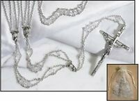 Austrian Crystal Lasso Wedding Rosary (tc730)
