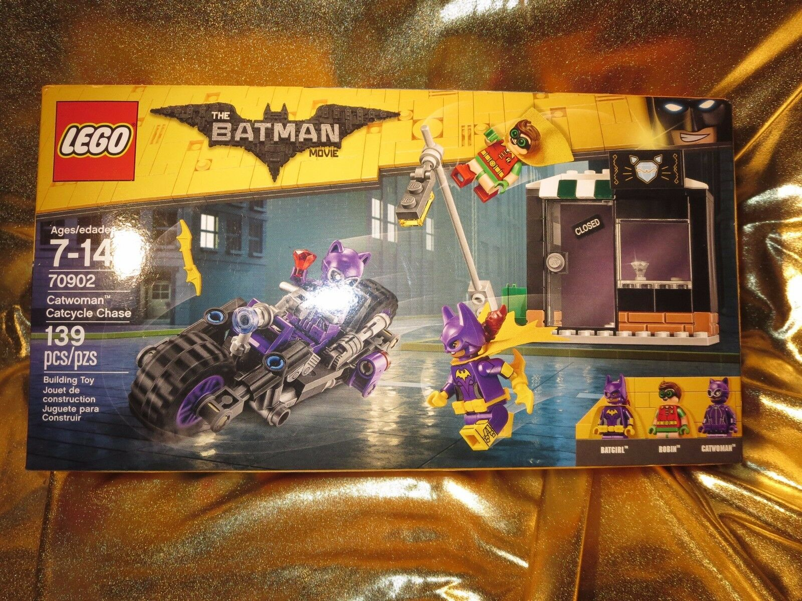 Catwoman Catcycle Chase The Batman Film Lego Set 137 Pièces Neuves 70902