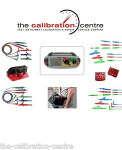 REPLACEMENT TEST LEADS & ACCESSORIES FOR MEGGER MFT1731 MULTIFUNCTION TESTER