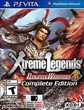 Dynasty Warriors 8: Xtreme Legends -- Complete Edition Sony PlayStation Vita, 2