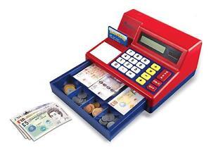 Enfants caisse enregistreuse jusqu'à enfants faire semblant calculatrice et jouer de l'argent Nouveau