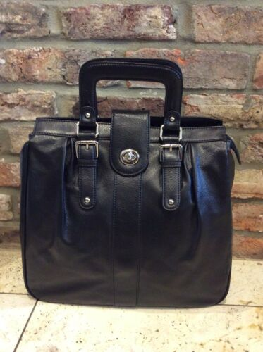 Elysea Over Leather Black Used Large £400 Handbag By Style Once Tote Cost AwpdwqY