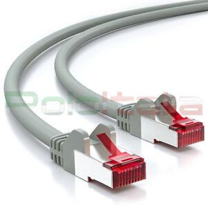 Cable-De-0-A-50m-Reseau-Ethernet-Lan-Blinde-Cat-6-S-FTP-RJ45-Gigabit-Extension