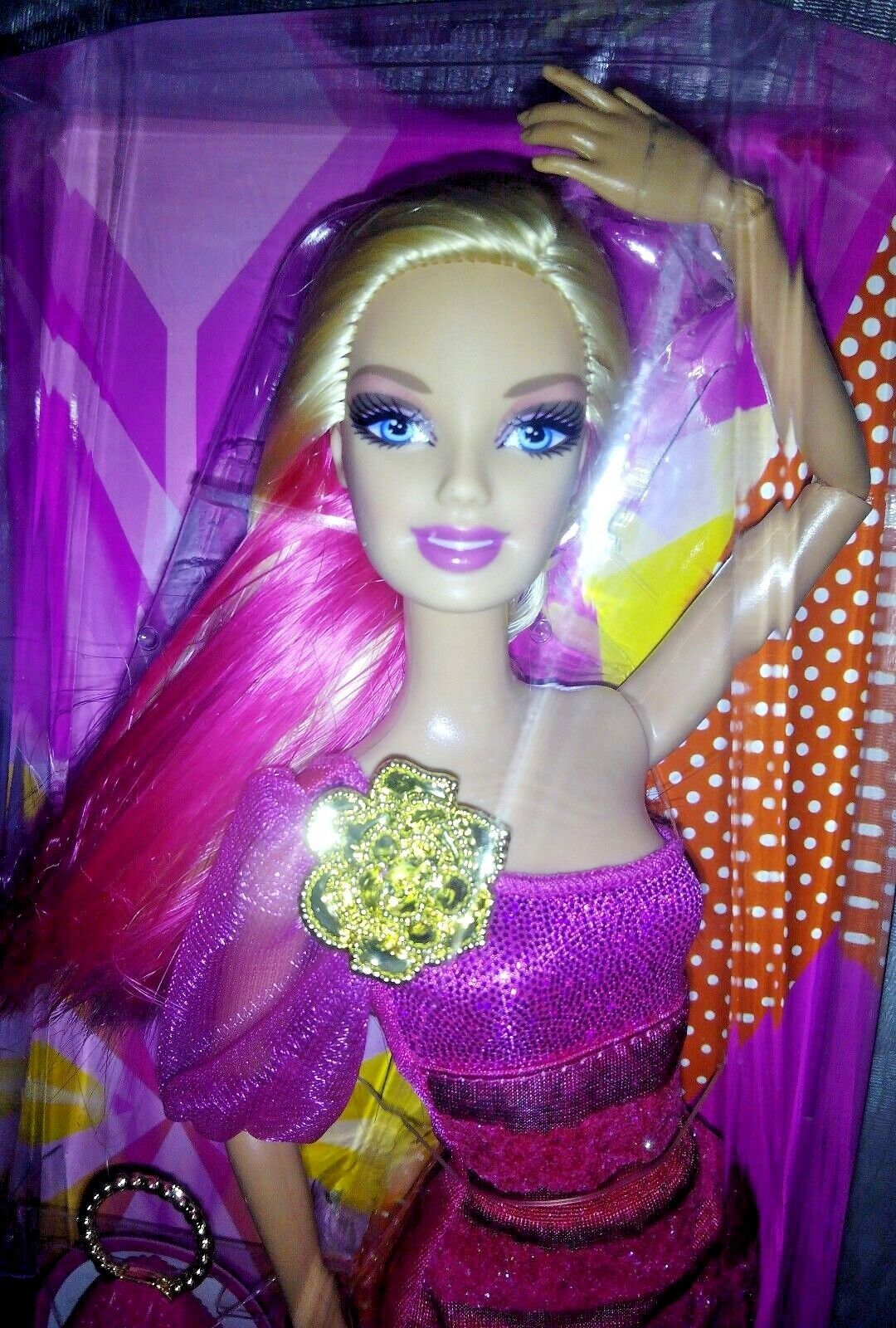 Barbie Fashionista Fashionista Fashionista articulada Rainbow wave 1 MODELO GLAM 2248f4