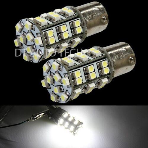 20X 6000K Xenon White 45 LEDs SMD 1156 RV Camper Trailer Interior Light Bulbs