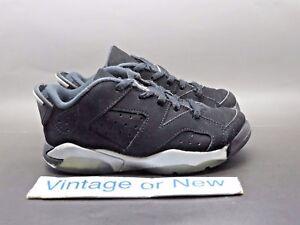 4d73a85329e72d Nike Air Jordan VI 6 Low Chrome BP Preschool Retro 2015 sz 11C